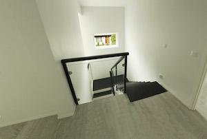 Kuva graniitilla päällystetyistä portaista