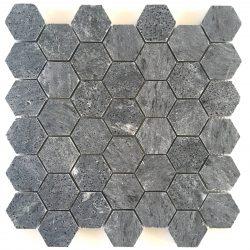 vuolukivi hexagon mosaiikki helastonelta